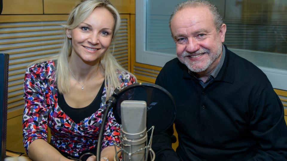 Jitka Novotná si do pořadu Stříbrný vítr pozvala Martina Kláska