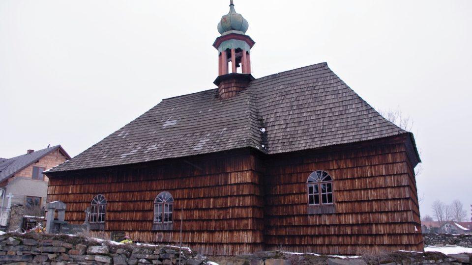 Kostelík sv. Jana Křtitele v Lipné