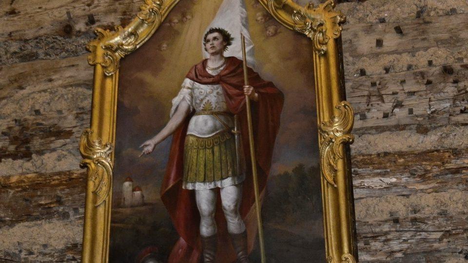 Obraz sv. Jiří