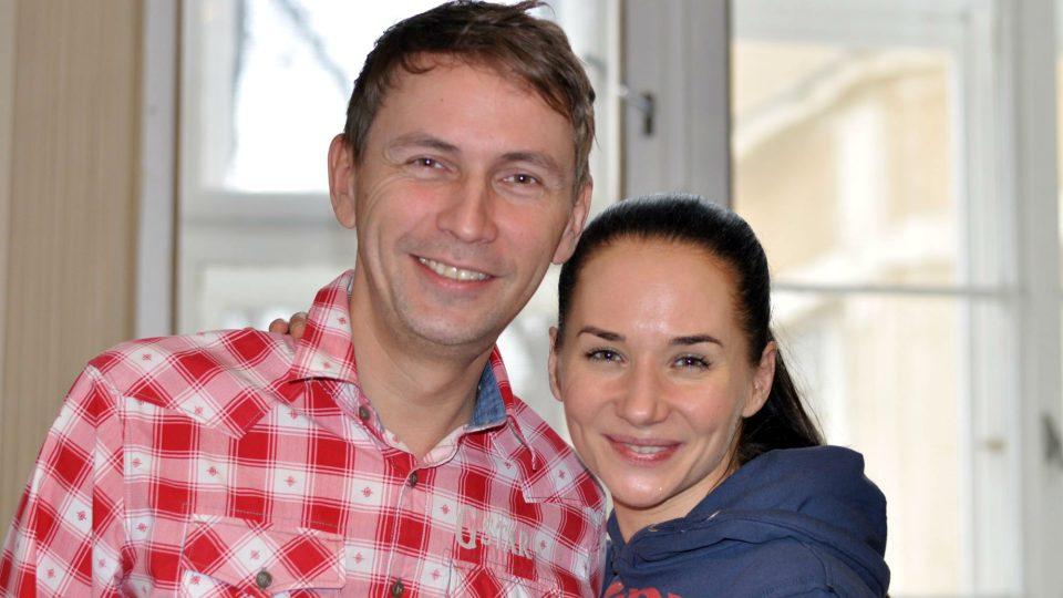 Petr Zajíček a Sandra Nováková