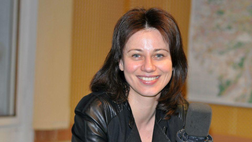 Herečka a zpěvačka Dagmar Zázvůrková