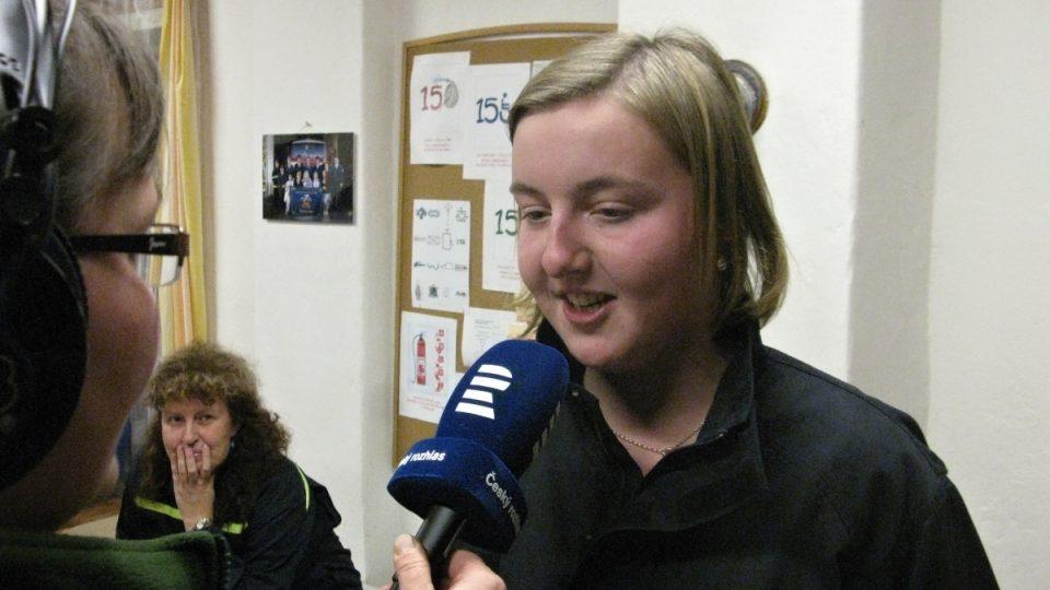 Andrea Pavlisová, vedoucí mládeže