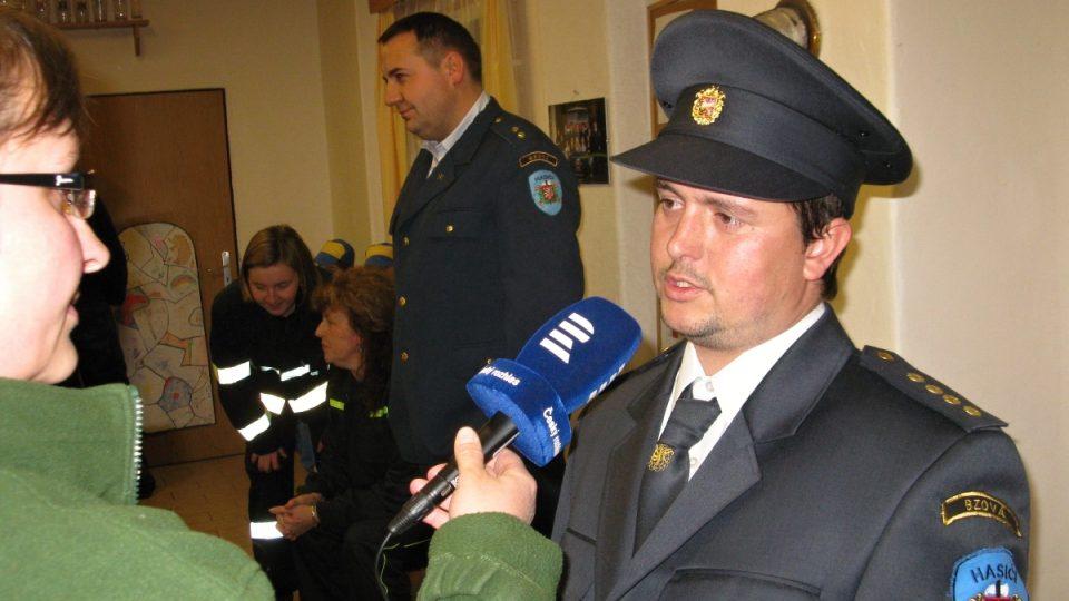 Jan Mráček, starosta SDH