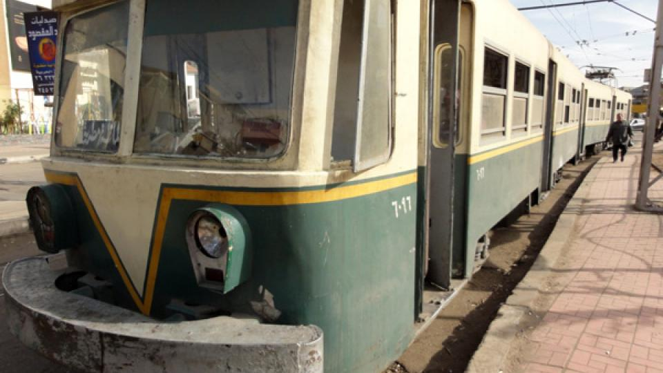Káhirský dopravní podnik už vozy ani neopravuje