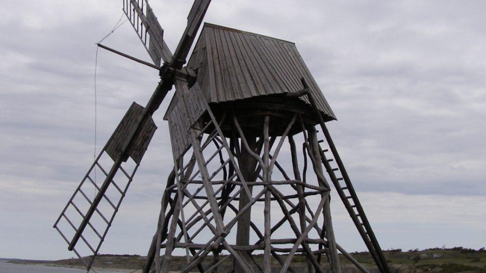 Jordhamn - větrný mlýn