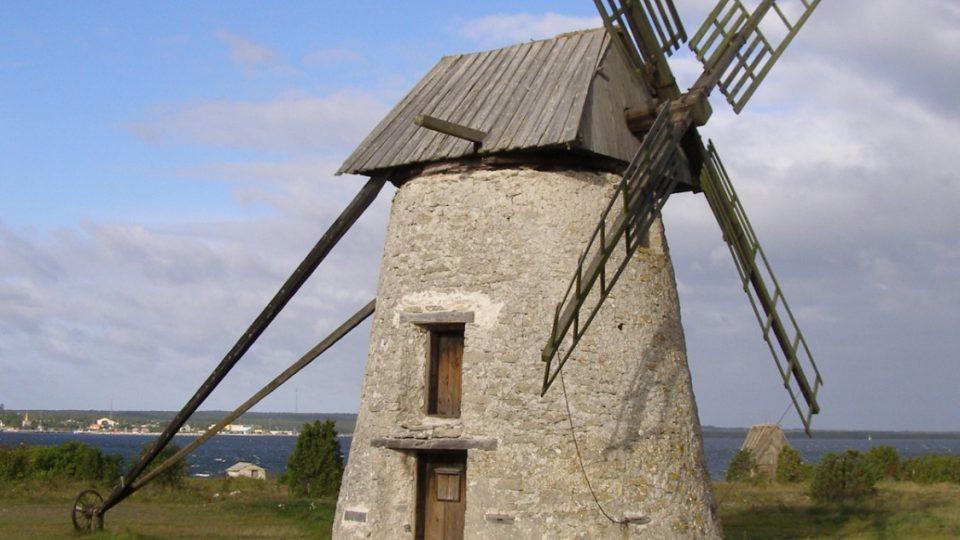 Farö - větrný mlýn