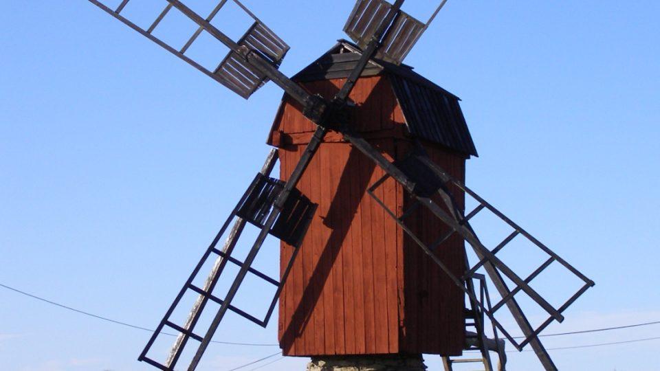 Öland - Větrný mlýn
