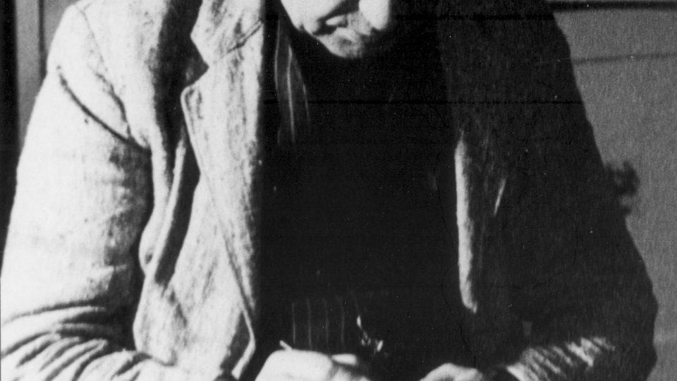 Arnošt Hrabal v Buchlovicích 1961