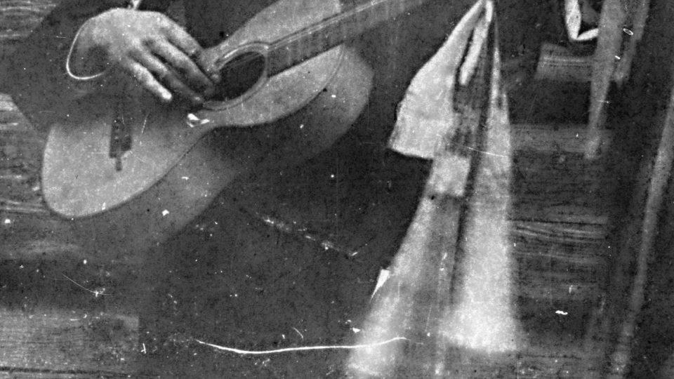 Arnošt Hrabal na severní Moravě, 20. léta