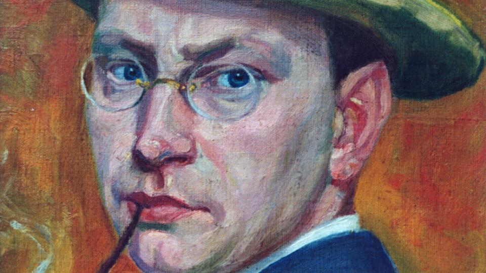 Hrabal 30letý - autoportrét (ořez)