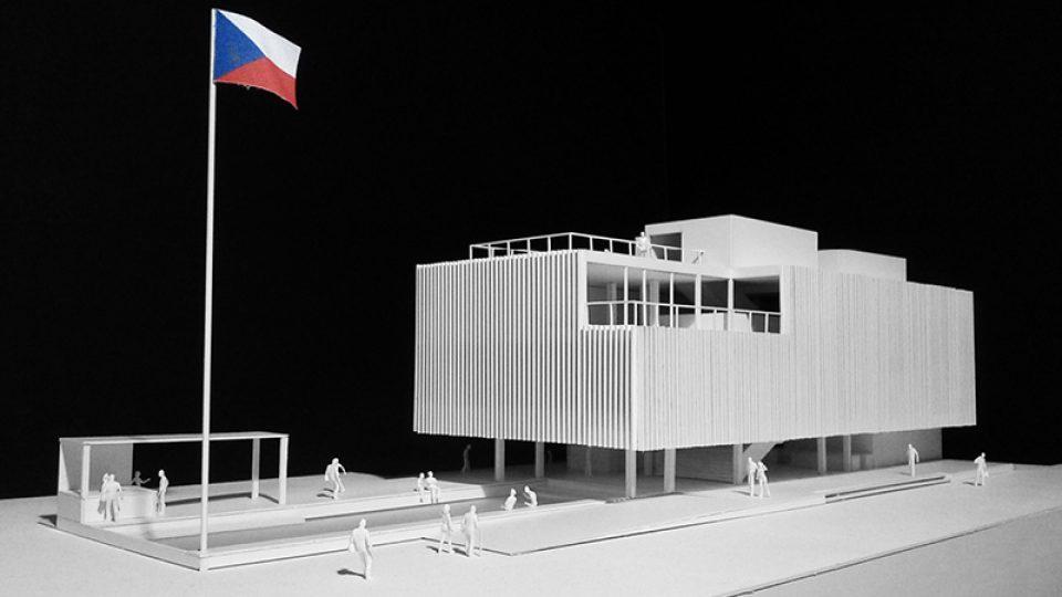 Model pavilonu České republiky pro EXPO 2015