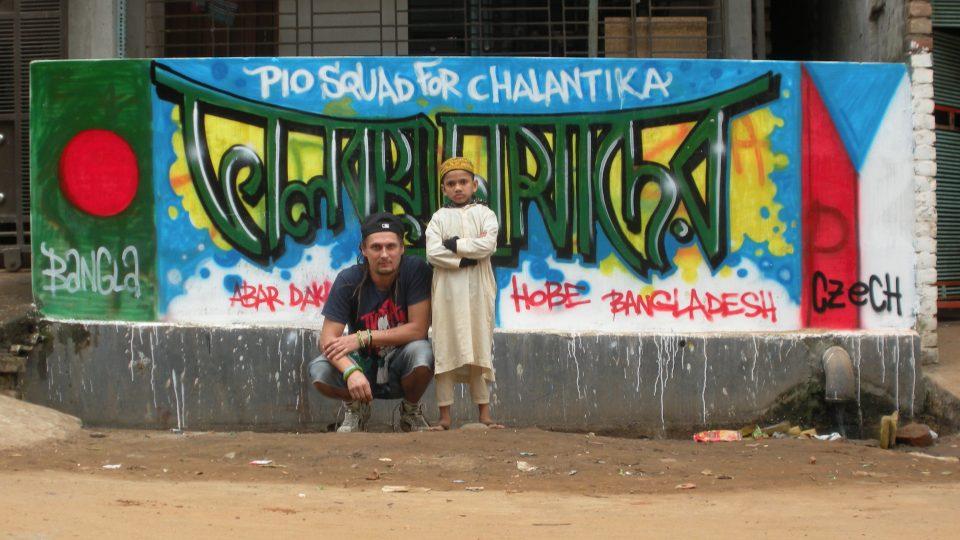 Skupina Pio Squad zavítala do Bangladéše