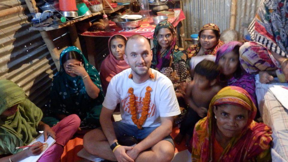 Bangladéšský slum