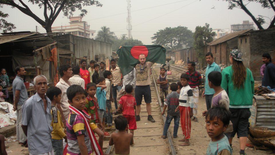 Bangladéšský slum Čalantika