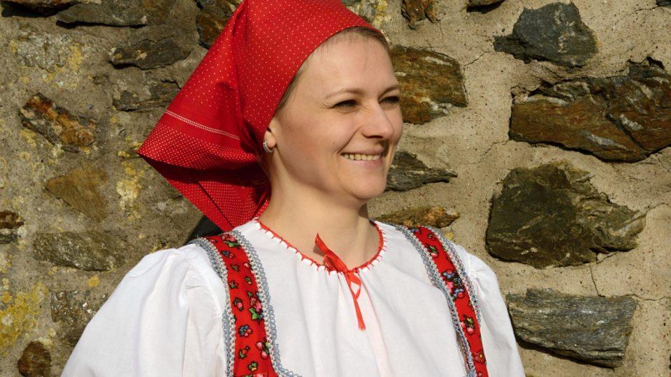 Zpěvačka Lenka Turníková