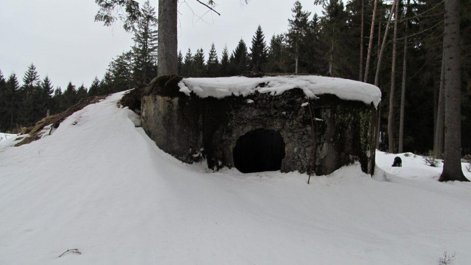 Rozstřílený bunkr