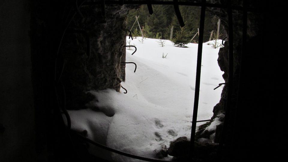 Výhled z bunkru