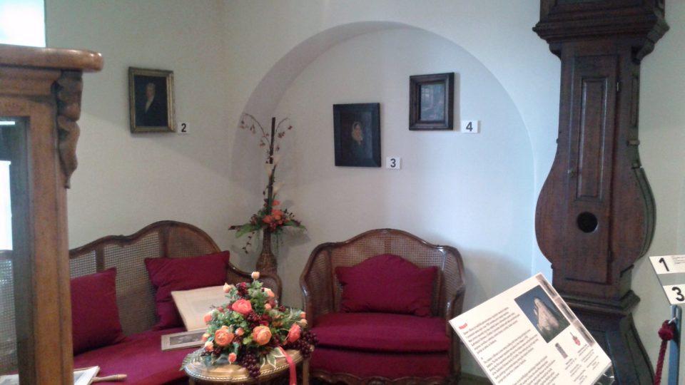 Muzeum připomíná i historii zámku v Bílovci