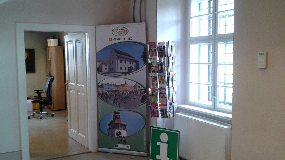 V historickém domě sídlí v přízemí i turistické informační centrum