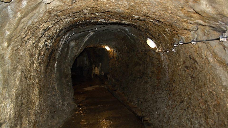 Chodba v jihlavském podzemí