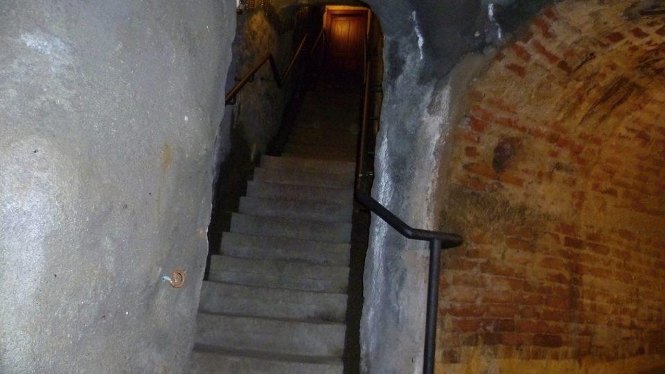 Vstup do podzemí