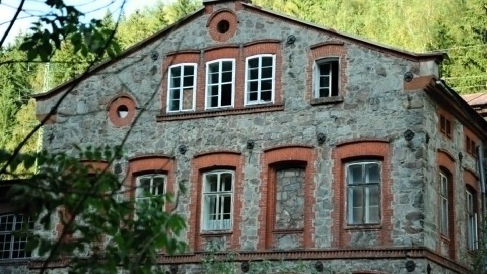 Architektonická památka - Dixova brusírna