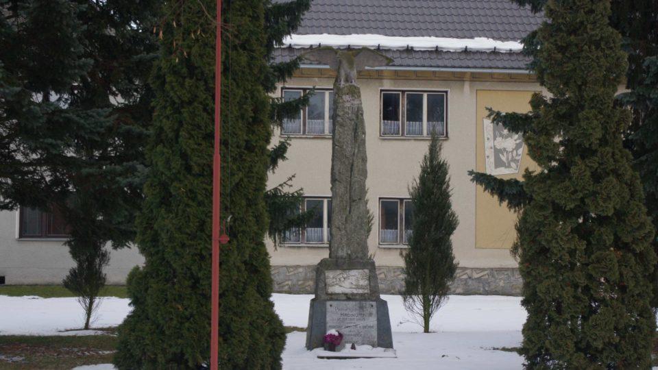 Pomník padlým ve světové válce