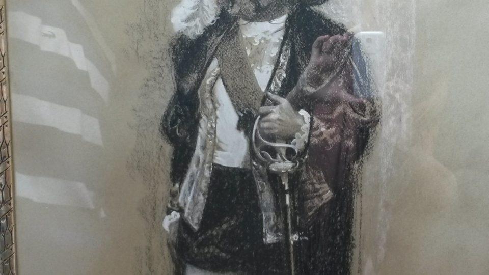 Portrét Burianova otce