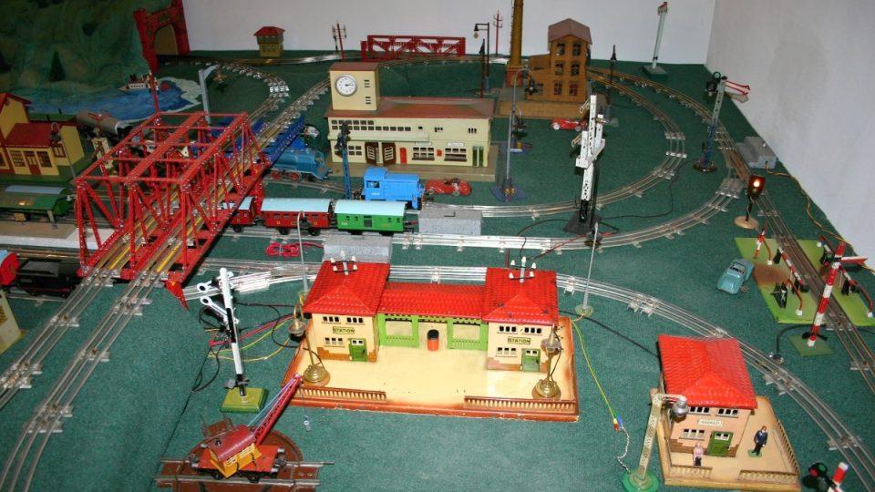 Elektrifikovaný model kolejiště