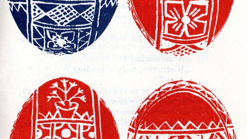Výzdoba slováckých kraslic od Anežky Gorlové