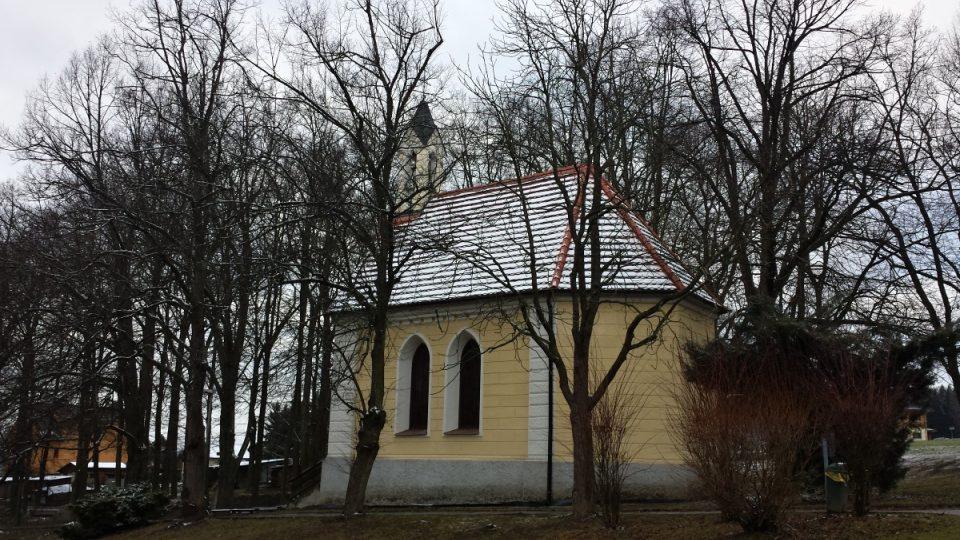 Hrdějovice - kaple nad Těšínským pramenem