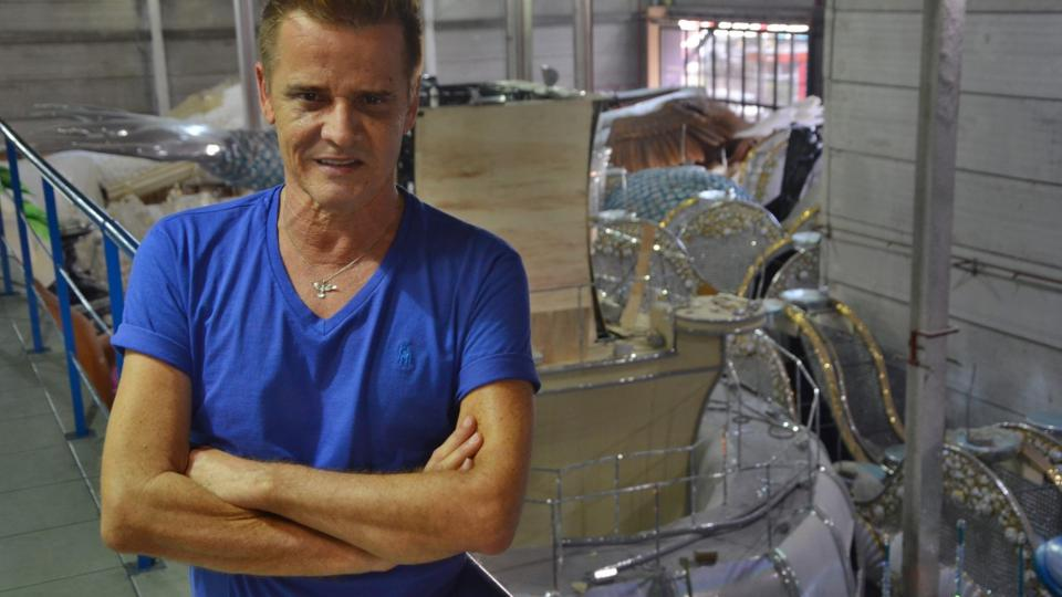 Alexandre Louzada, umělecký ředitel - carnavalesco riodejaneirské školy samby Portela
