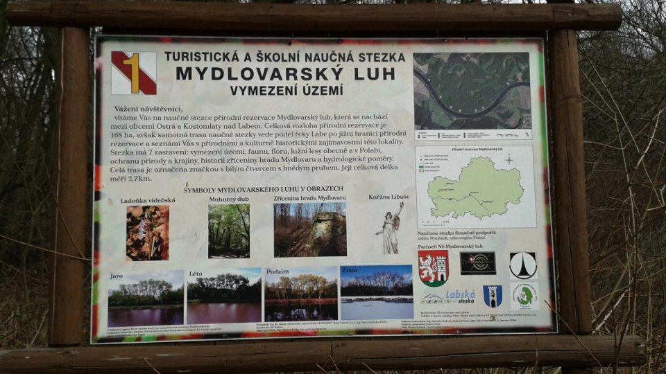 Mydlovar najdete v přírodní rezervaci Mydlovarský luh