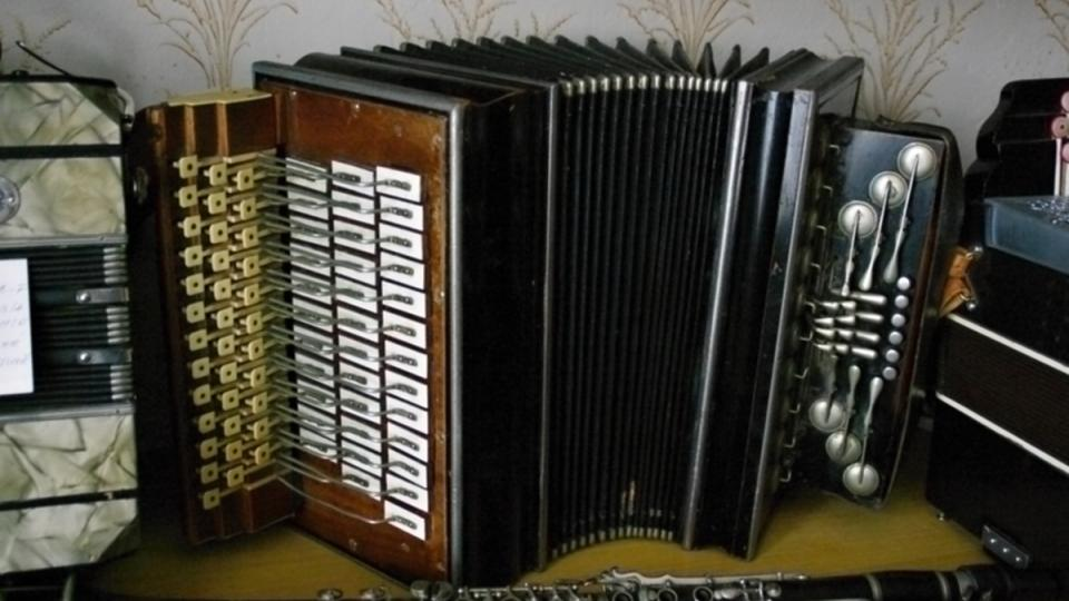 Další uníkát - harmonika s klarinetovými knoflíky