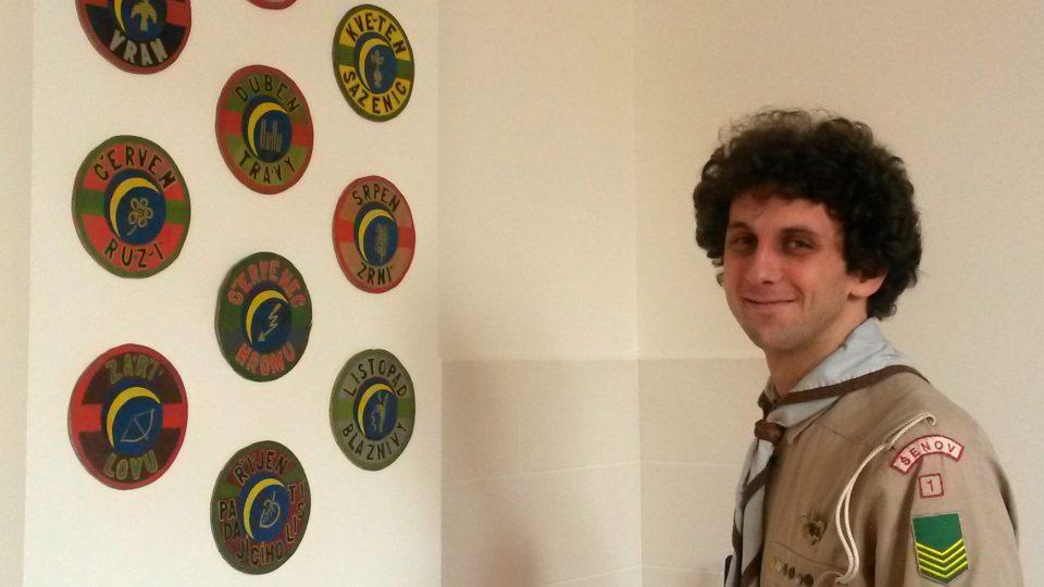 Martin Sukač, vedoucí skautského střediska, které tam má klubovny
