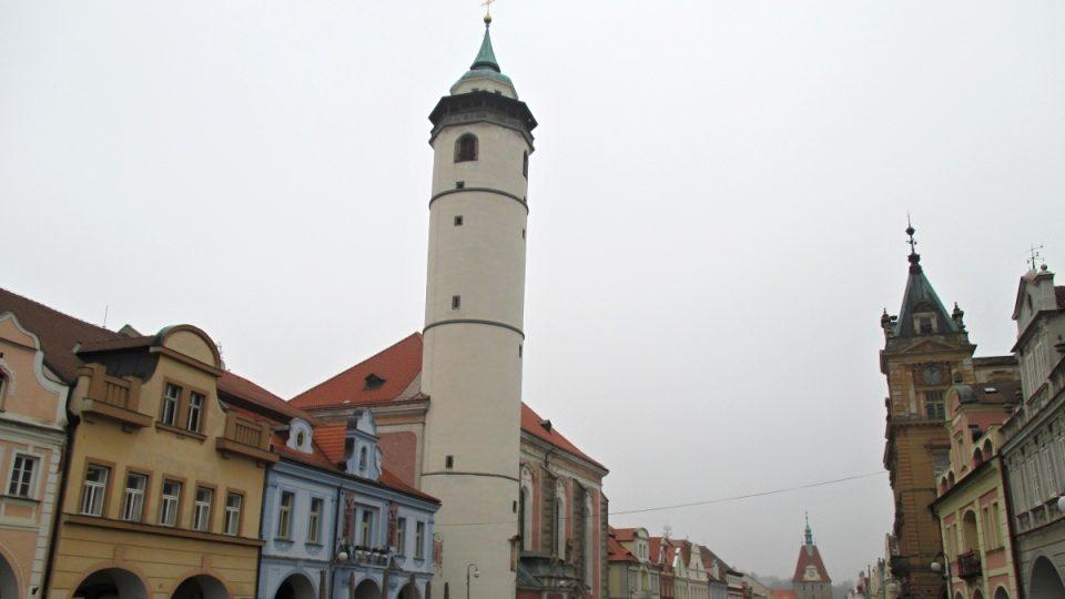 Šikmá věž v Domažlicích
