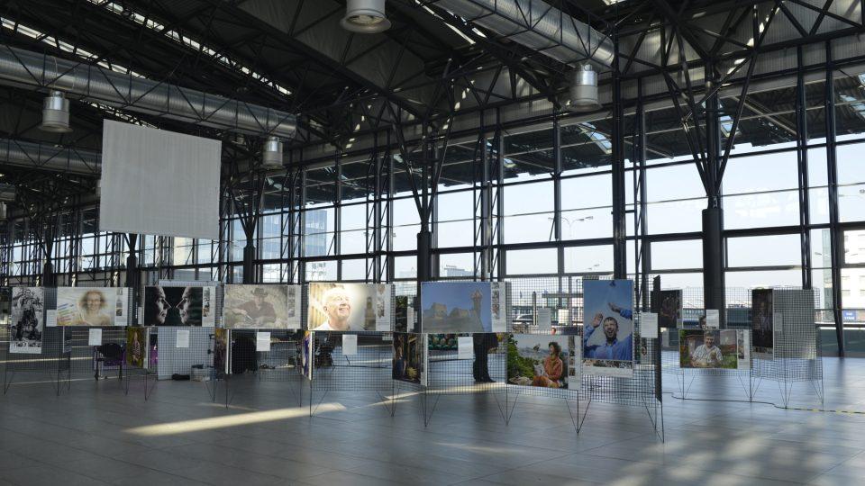Výstavu Meteoru můžete navštívit na Terminálu Sever 2