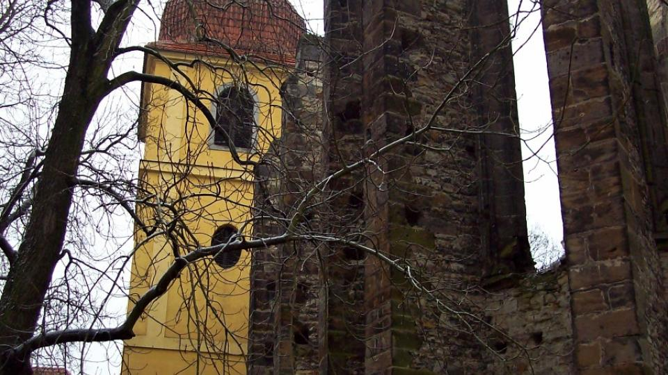 Chrám v Panenském Týnci - zvonice