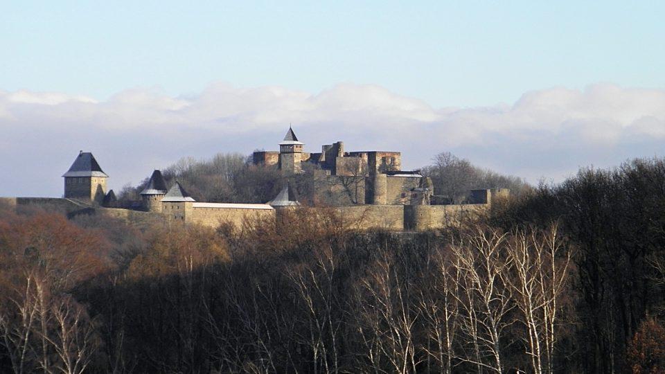 Průchod Moravskou bránou střežil i hrad Helfštýn