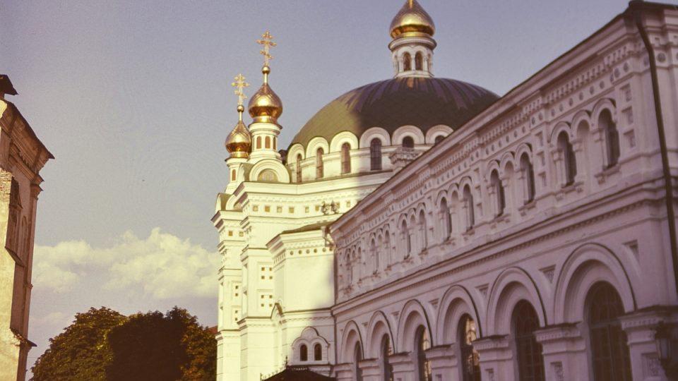 Presbytář s Chrámem sv. Antonína a Theodosie. Kyjevskopečerská lavra (1893–1895)