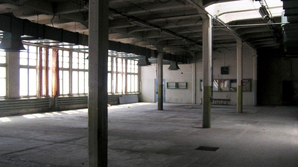 Původní továrna vertex