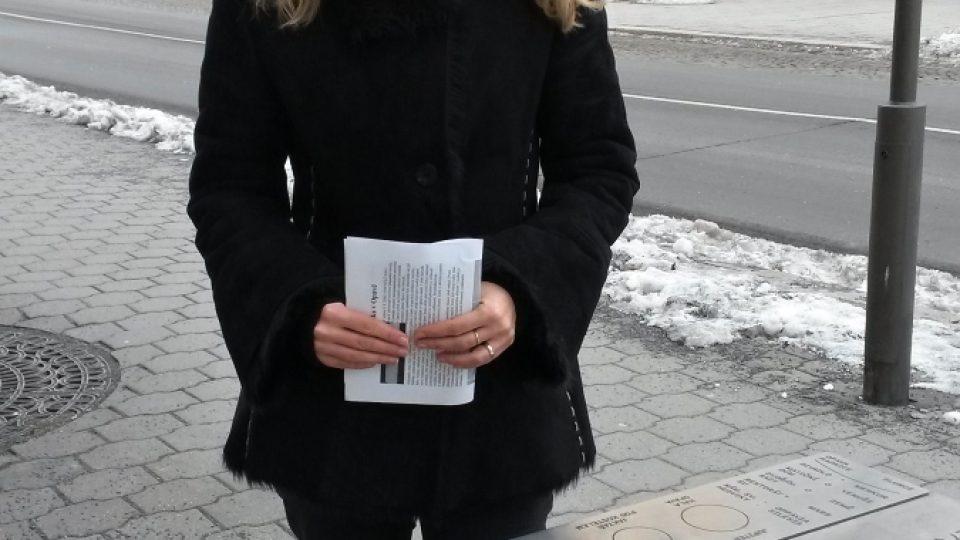 Jana Foltysová z opavského magistrátu