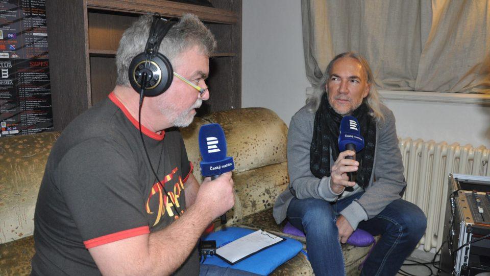 Zdeněk Vrba a Pavel Smeták, předseda představenstva Malostranské besedy