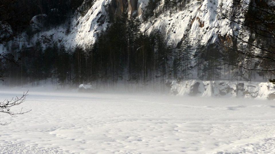 Mrazová kotlina v Adršpachu