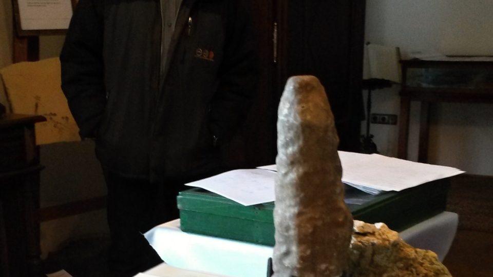Rudolf Štrbák, amatérský brusič a sběratel kamenů