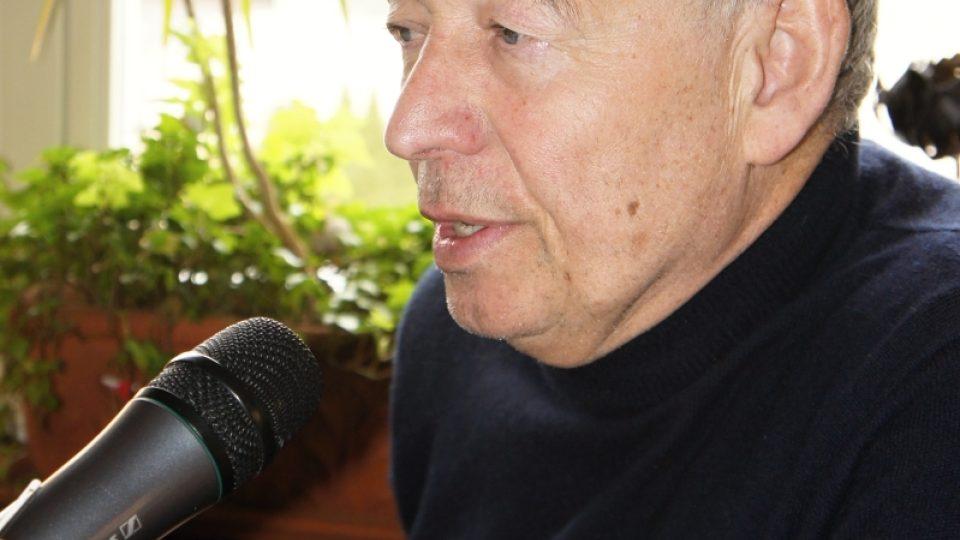 Ivan Vyskočil při rozhovoru