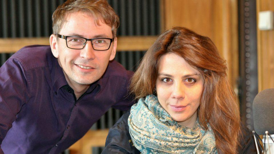 Petr Zajíček s Anetou Langerovou