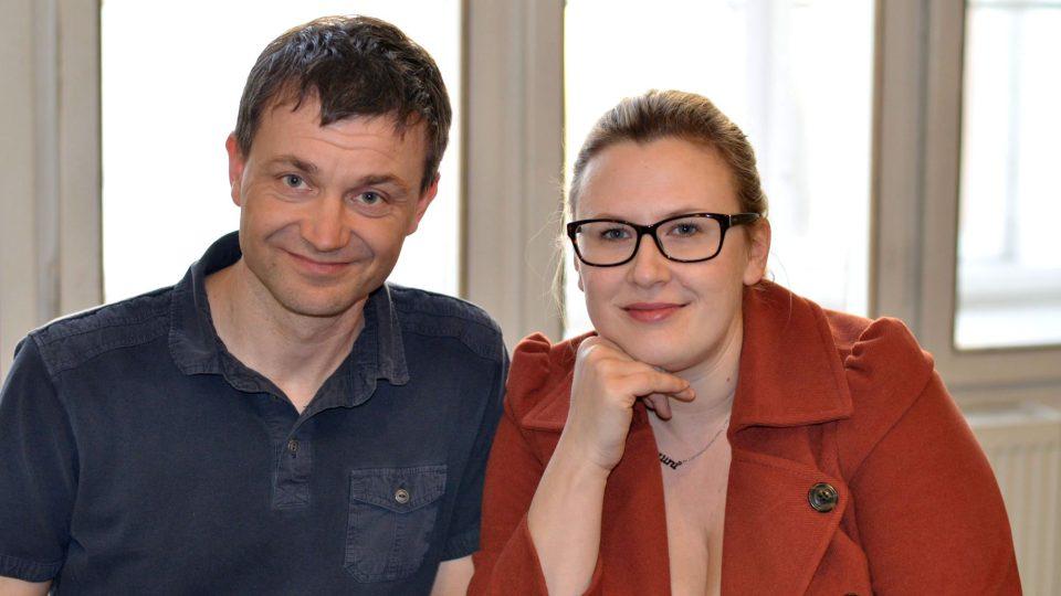 Olda Burda a zpěvačka Tereza Černochová