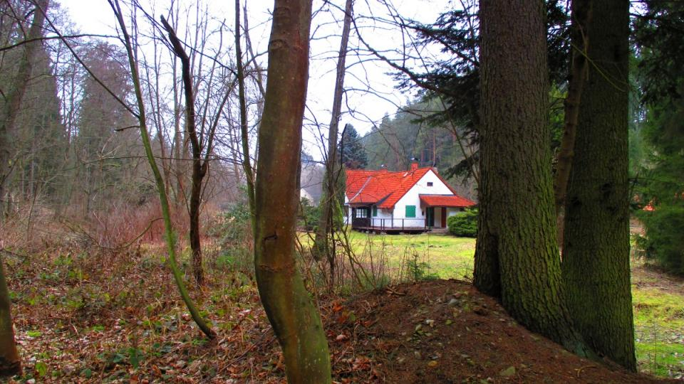 Dobře ukrytá chata Jana Wericha
