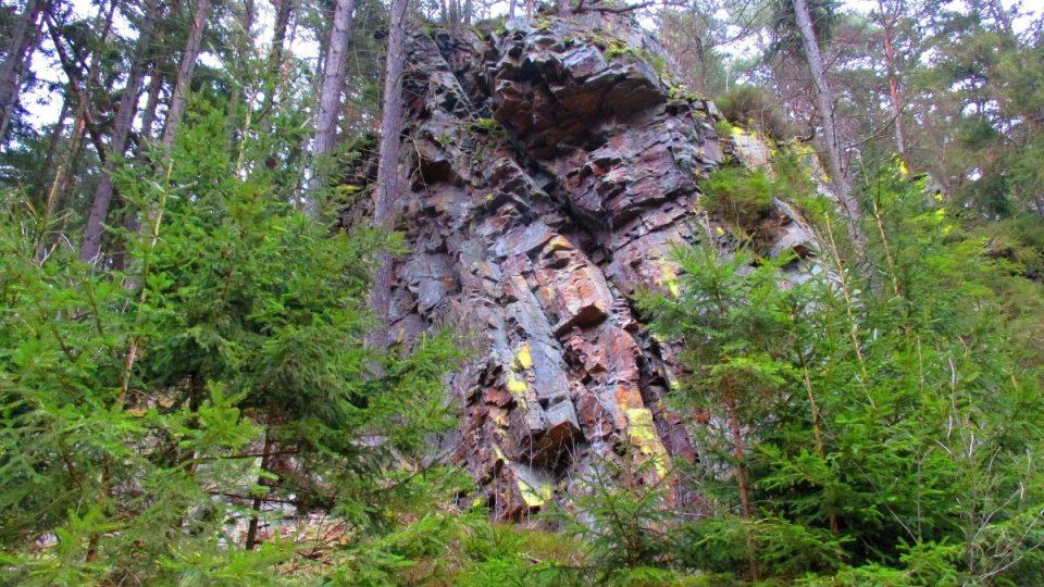 Chata sousedí s přírodní rezervací Borek